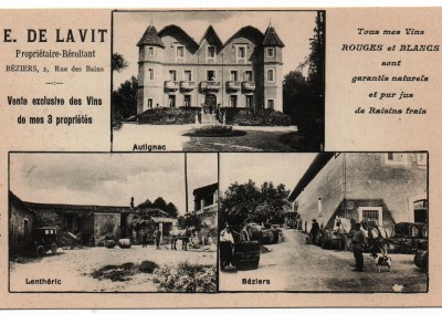 The Château at the turn of the 20th century