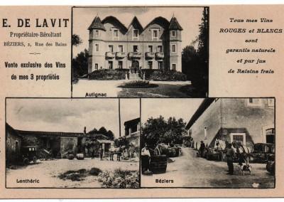 Le Château autrefois