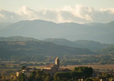 Vue de Thézan-lès-Béziers